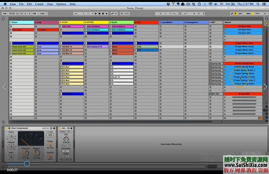 Ableton Live 9和10视频教程共149集(主要是9版本的视频,10版本的较少) 第5张
