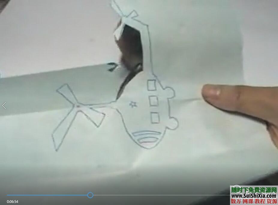 儿童创意剪纸手工彩泥视频以及涂鸦教程和PDF书籍 第6张