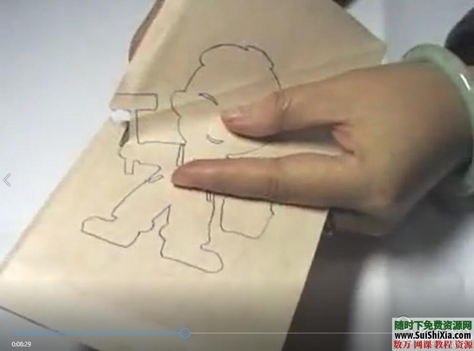 儿童创意剪纸手工彩泥视频以及涂鸦教程和PDF书籍 第7张