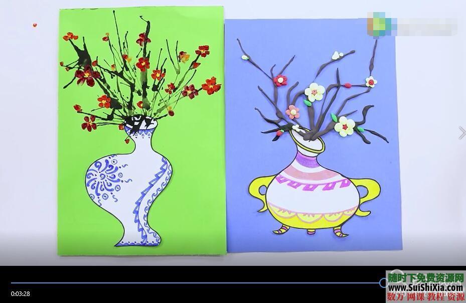 儿童创意剪纸手工彩泥视频以及涂鸦教程和PDF书籍 第12张