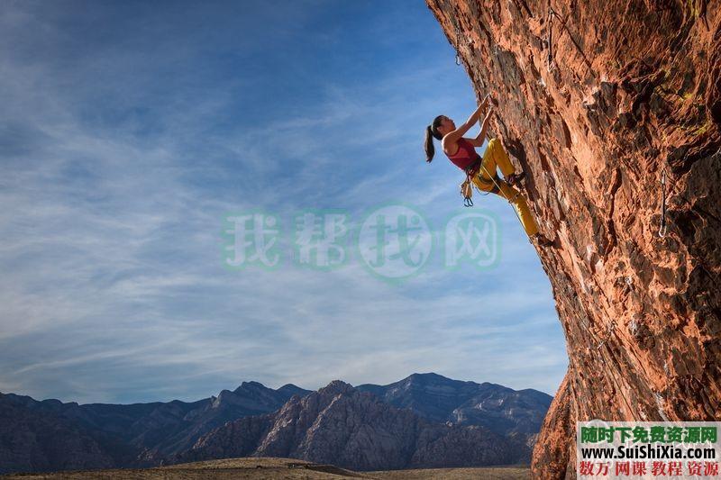 100多张极限攀登徒步登上正能量挑战自我的图片和一个充满能量的视频 第7张