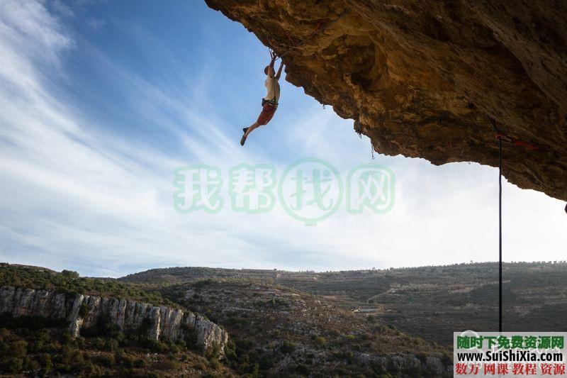 100多张极限攀登徒步登上正能量挑战自我的图片和一个充满能量的视频 第8张