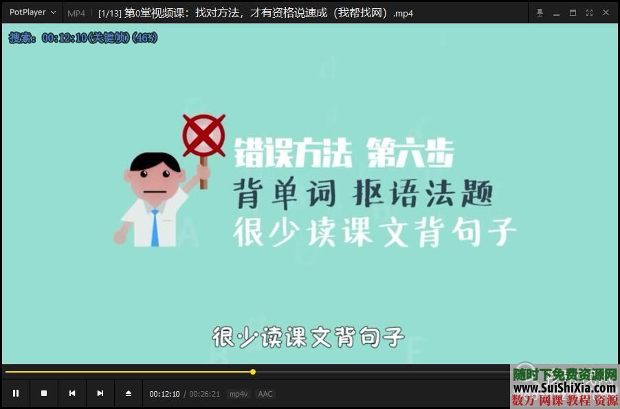 撕掉单词语法书颠覆你的传统英语学习视频+音频+PDF讲义 第4张