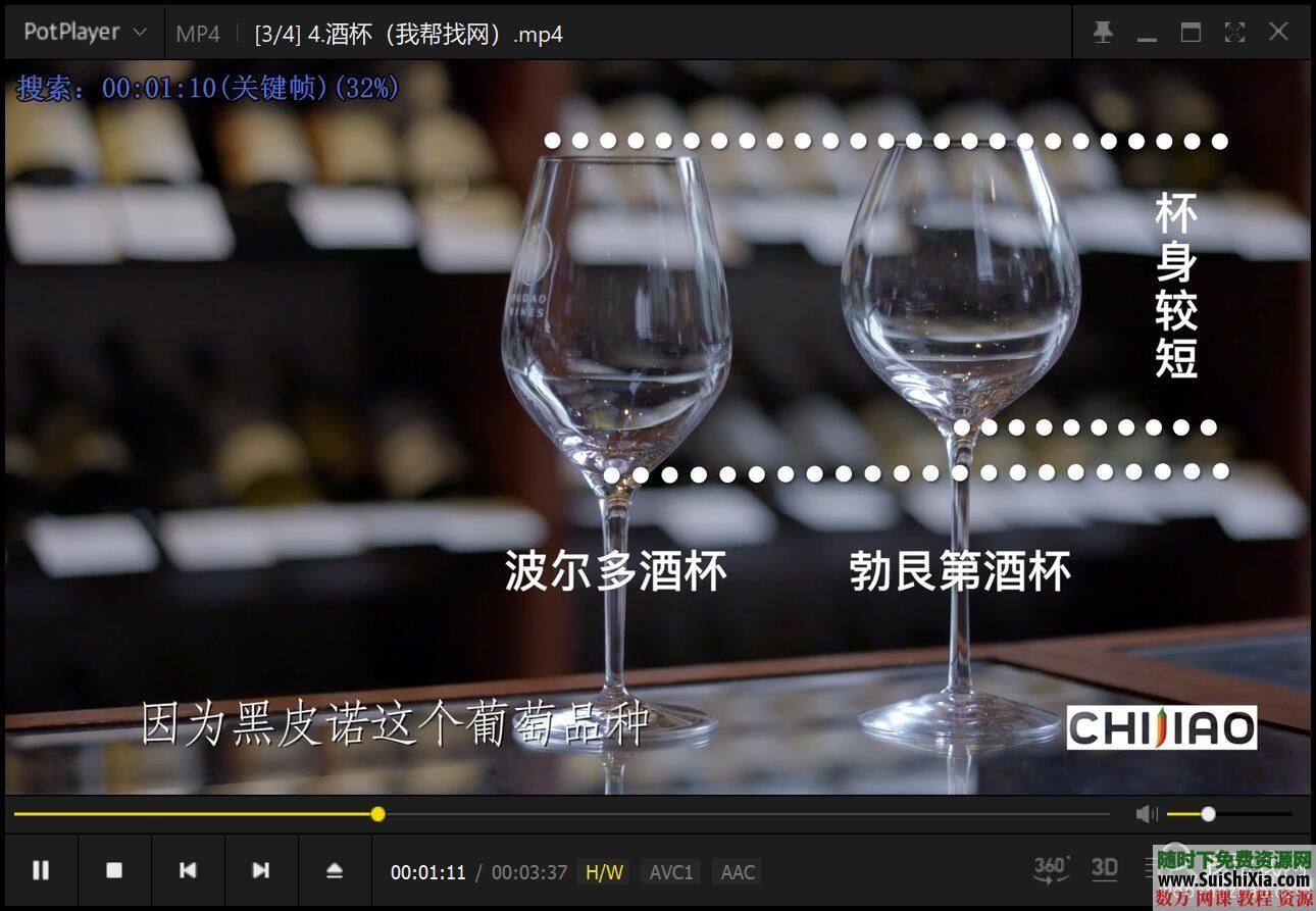 红酒品鉴视频教程和酒文化酒水知识资料 第5张