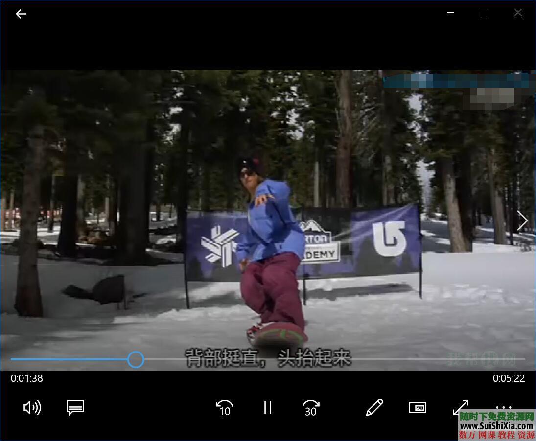 打包国内外最专业的自学单双板滑雪视频教程 第8张