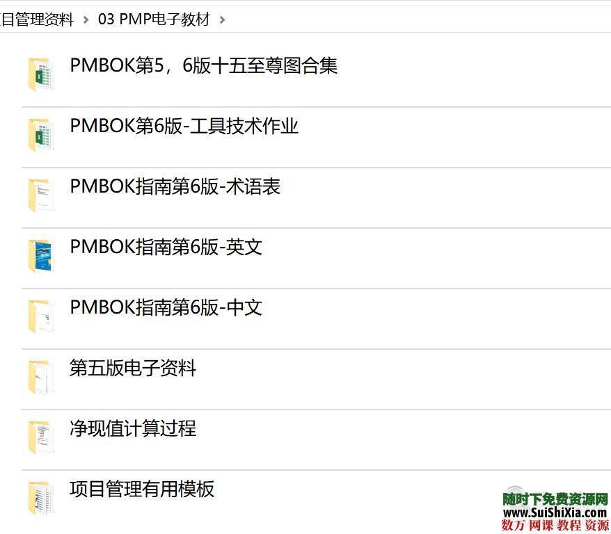 2019考试【第六版PMP项目管理】资料培训课程视频教程 第7张