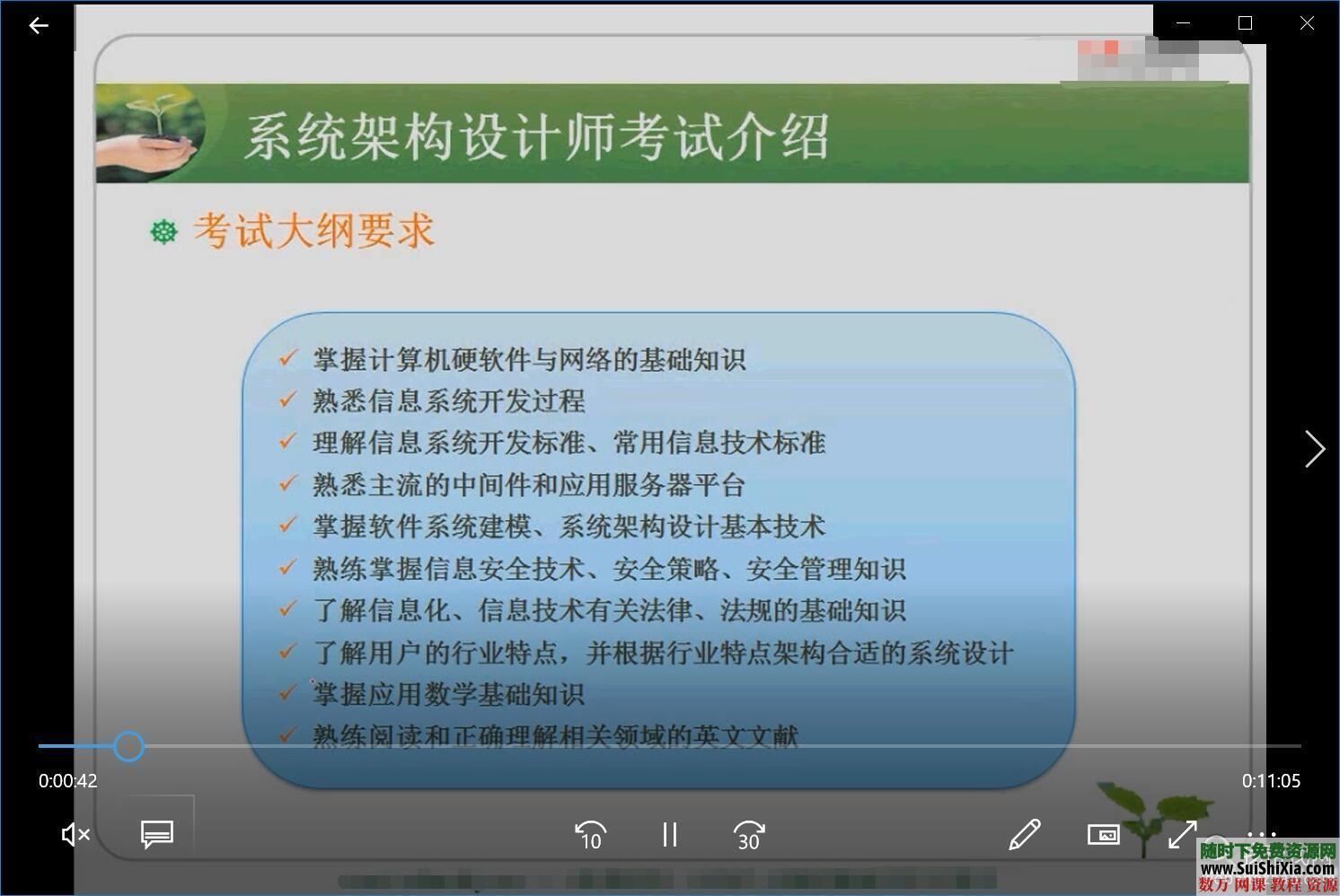 19.4G软考系统架构设计师视频考试历年真题答案解析和文本资料 第6张