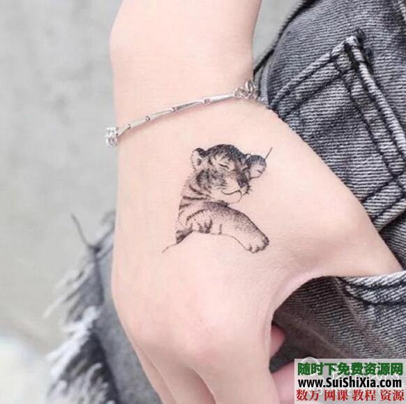纹身教程视频教学半永久刺青学习入门自学培训课程手稿图案大全 第2张