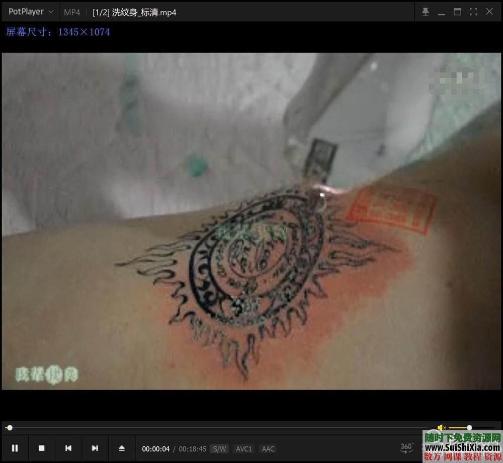 纹身教程视频教学半永久刺青学习入门自学培训课程手稿图案大全 第14张
