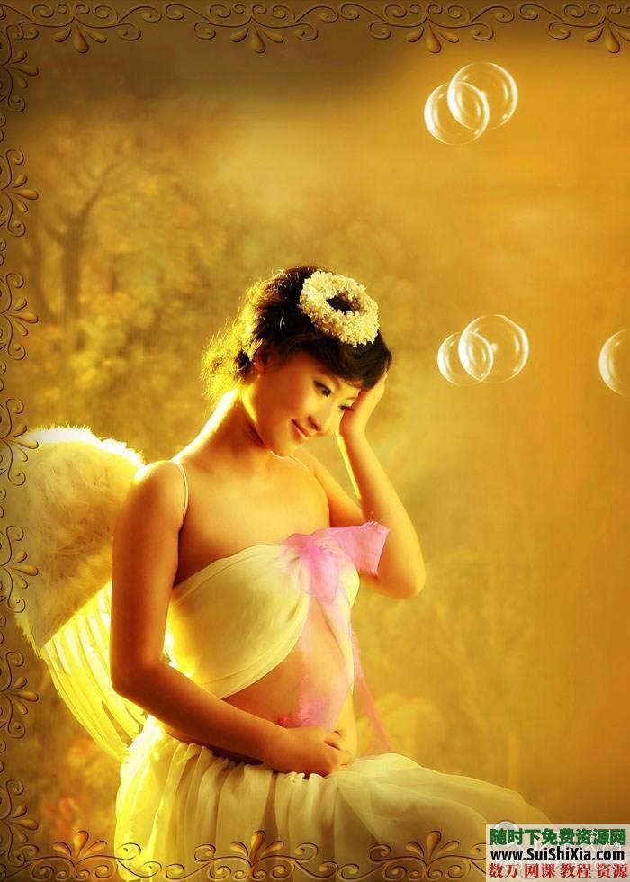 孕妇照相拍照pose姿势样片大全 第2张