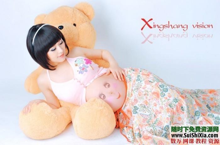 孕妇照相拍照pose姿势样片大全 第8张