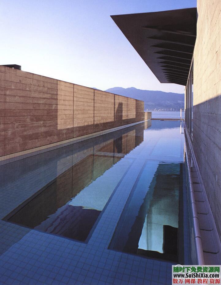 大量游泳池效果图实景图设计图打包 第1张