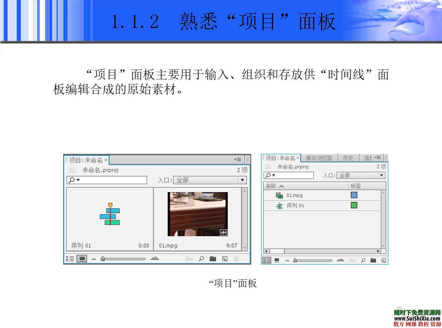 ppt和pdf格式的premiere cs6入门学习教程 第2张