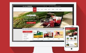 织梦dedecms大气产品展示企业公司网站通用模板(带手机版数据同