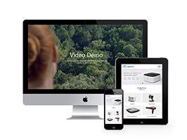智能生活家居类企业网站织梦模板(带手机端)