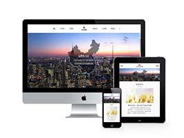 响应式企业集团通用类网站织梦模板(自适应手机端)